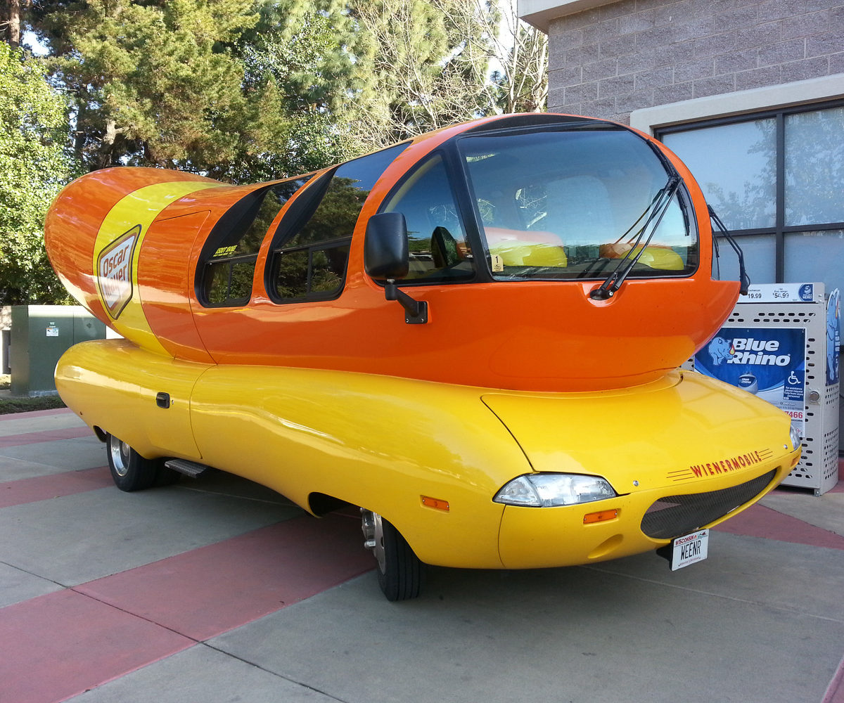 Oscar Mayer Wienermobile – Mar 2013 – San Jose CA