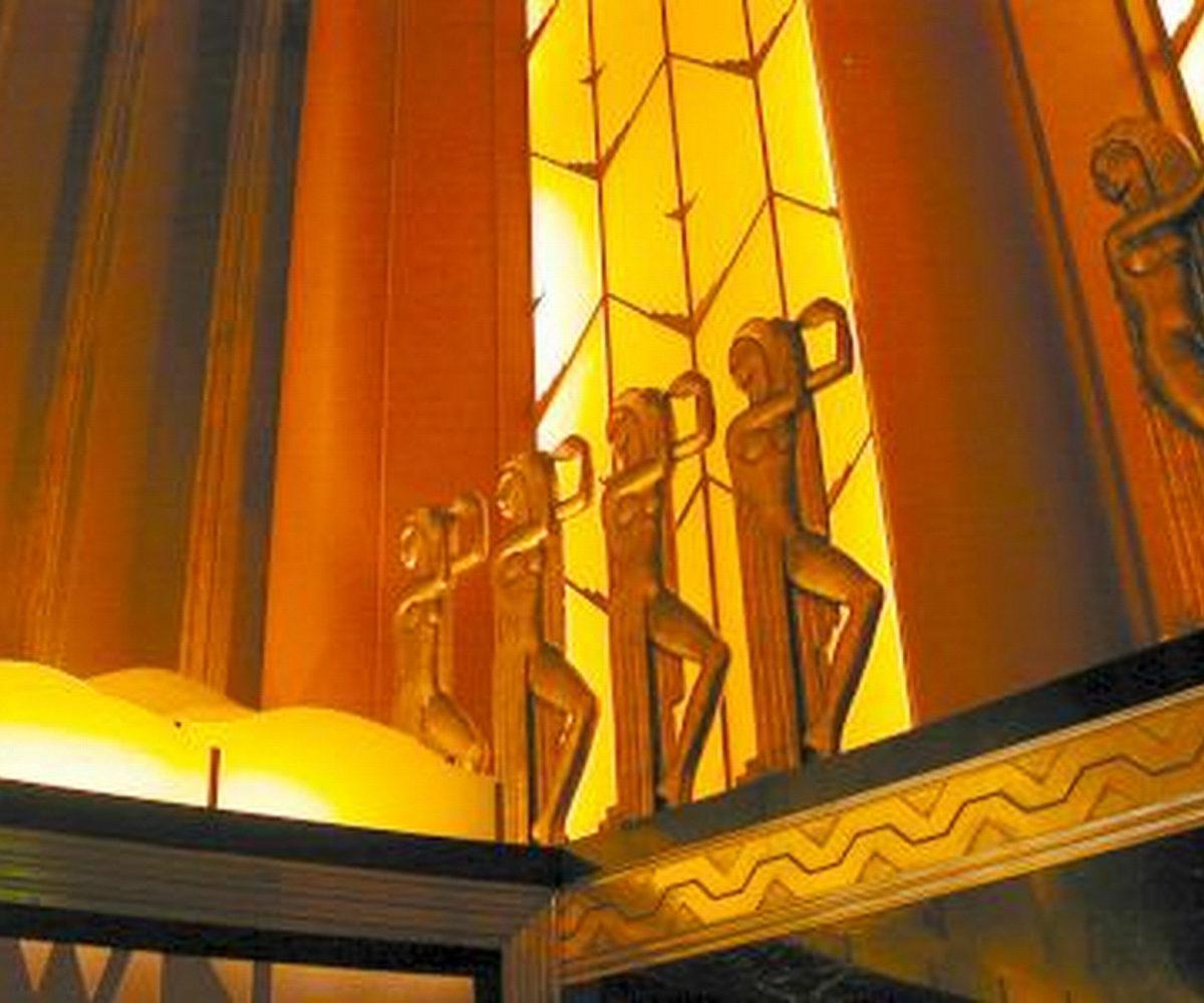 Paramount Theater, Oakland CA, Dec 2001